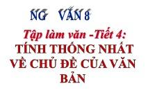cam nhan ve cai chet cua co be ban diem trong truyen ngan cung ten cua nha van an d - Soạn bài Tính thống nhất chủ đề của văn bản – ngữ văn lớp 8