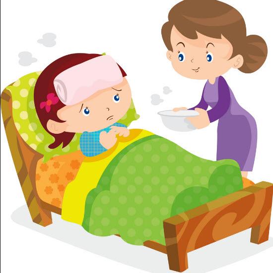 Tả về mẹ khi chăm sóc em ốm